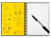 Elfinbook Reusable Notebook 2.0 + 1x Pilot Pen - ModernKitchenMaker.com