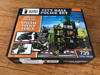 Action Bricks Police Headquarter (City Hall) Set and Special Enforcement Vehicles Lego Compatible - ModernKitchenMaker.com