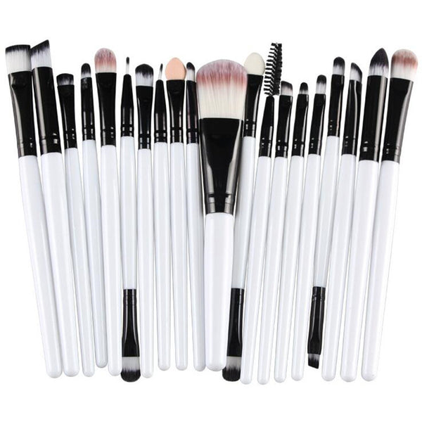 Pro 20 pcs Cosmetic Make Up Eye Brush Set - ModernKitchenMaker.com