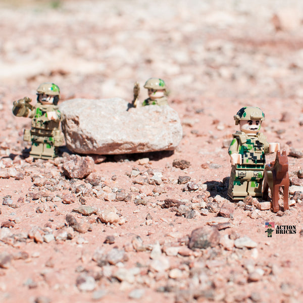 Compatible Lego Army Men MiniFigure Set Of Special Forces, Army, SWAT,  Soldiers, Military