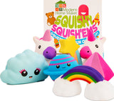 Jumbo SQUISHIES of America's favorite food, Hamburgers, Hot Dogs, Pizza, Doughnuts, Cupcakes, Soda, French Fries Stress Relief Toys - ModernKitchenMaker.com