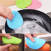 Anti Bacteria Multi-Function Silicone Cleaning Brush (3 Piece Set) - ModernKitchenMaker.com