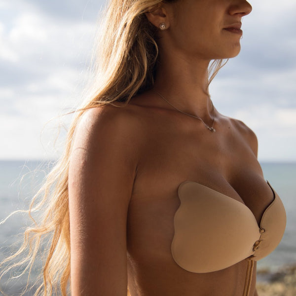 b3cd3d32bf ... Strapless Seamless Push Up Silicone Wire Free Bra -  ModernKitchenMaker.com ...