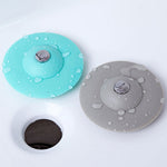 Multi function Drain Stopper (Hair Catcher) for Sink Shower Bathtub Bathroom (2 Pack) - ModernKitchenMaker.com