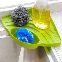 Kitchen Sink Corner Storage Rack Sponge Holder - ModernKitchenMaker.com