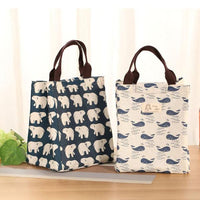 Waterproof Lunch Bag and Cooler Portable with Design Patterns (2 Pack) - ModernKitchenMaker.com