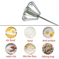 Semi Automatic Self Spinning Whisk - ModernKitchenMaker.com