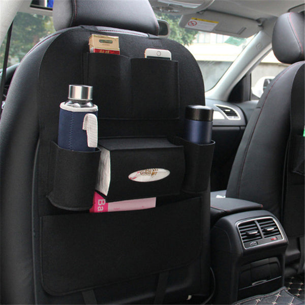 Backseat Car Organizer Tactical Premium Car Back Seat Organizer Great for Kids - ModernKitchenMaker.com