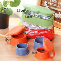 Set of 3 Bag Cap Preserve Sealing Kitchen Food Storage - ModernKitchenMaker.com