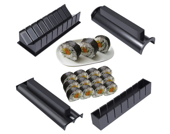 10Pcs/Set DIY Easy Sushi Making Kit - ModernKitchenMaker.com