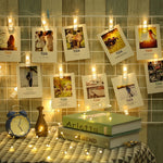 Fairy lite LED Photo Clip Decoration 1M - ModernKitchenMaker.com