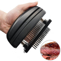 Stainless Steel 48 Blade Needle Meat Tenderizer - ModernKitchenMaker.com