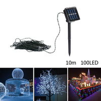 Solar Powered Fairy Light 100 LED 10 m - ModernKitchenMaker.com