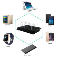 USB Lightning Charging Port For Up to 6 (Black) - ModernKitchenMaker.com
