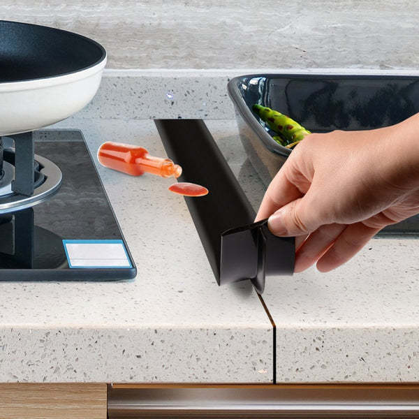 Kitchen Silicone Stove Counter Gap Cover - ModernKitchenMaker.com
