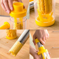 Stainless Steel Corn on the Cob Stripper - ModernKitchenMaker.com