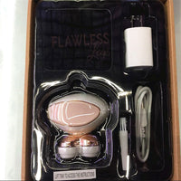 FLAWLESS LEGS Rechargeable Epilator Women's Body Hair removal As seen on TV - ModernKitchenMaker.com