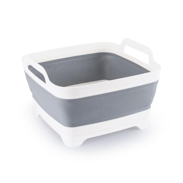 Collapsible / Foldable Kitchen Basket or Dish Tub - ModernKitchenMaker.com