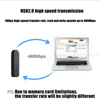 Card Reader For Your Mobile Phone 3 In 1 High-speed USB2.0 - ModernKitchenMaker.com