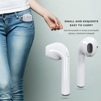 Bluetooth Wireless Headset With Rechargeable Box For All Smart Phones - ModernKitchenMaker.com