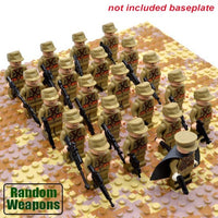 Compatible Lego World War 2 German Soldiers, Army Men Figure Sets (21 pieces for each army set) - ModernKitchenMaker.com
