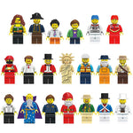 City Workers Building Block Compatible Figure Sets, Occupations and Educational - ModernKitchenMaker.com