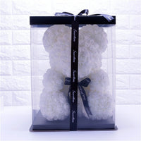 Rose Bear Flower Bear Teddy Bear with Gift Box - ModernKitchenMaker.com