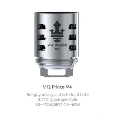 SMOK V12 Prince - M4 Core 0.17 Ohm (Single Coils)