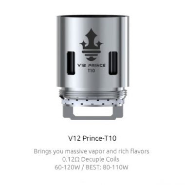 SMOK V12 Prince - T10 Core 0.12 Ohm (Single)