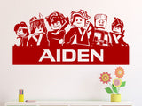 Lego Ninjago Movie Personalized Vinyl Wall Decal