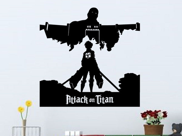 Attack on Titan Wall Decal