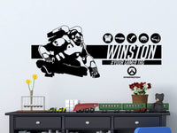 Overwatch Winston | Personalized Vinyl Wall Decal