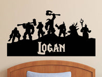 World of Warcraft | Personalized Vinyl Wall Decal