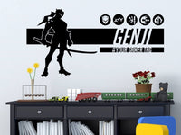 Overwatch Genji | Personalized Vinyl Wall Decal