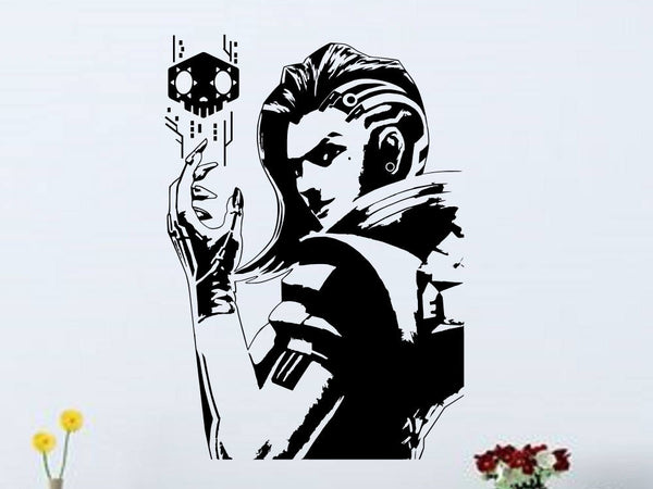 Overwatch Sombra Vinyl Wall Decal