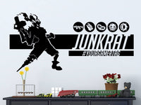 Overwatch Junkrat | Personalized Vinyl Wall Decal