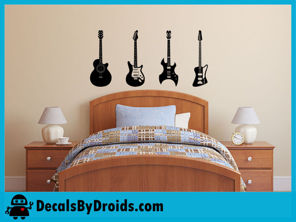Guitars Wall Decal