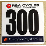Custom Race Numbers