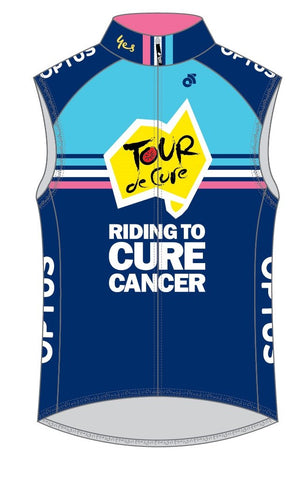 Tour de Cure Wind Vest