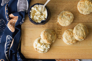 Pear and Walnut scones