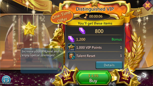 Distinguished VIP Package - 5% Discount