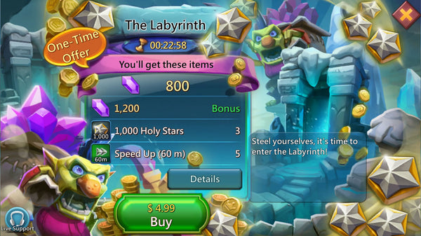 The Labyrinth Packages - 5% Discount