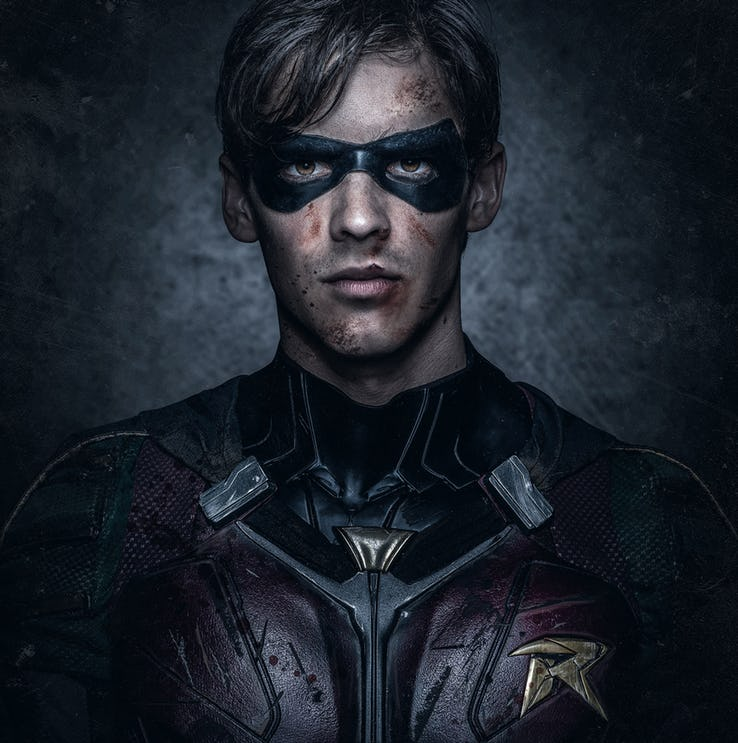 DC's 'Titans' Robins First Look Shares A Canny Resemblence to Batman
