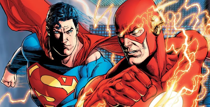 Who's Faster Flash or Superman? The Debate is Finally Over as the New Dc Comic Reveals The Winner.