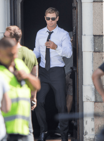 Chris Hemsworth Seen Shooting Men in Black 4, The Spin-off We Need!