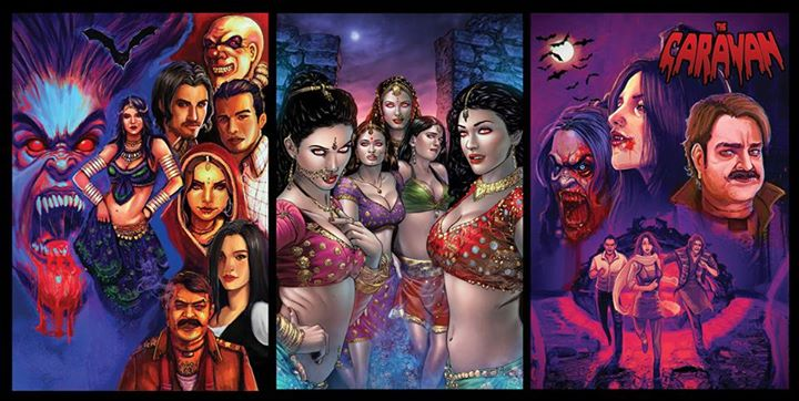 Caravan: An Underrated Indian Comic Book Which is Better Most International Comics I've Read.