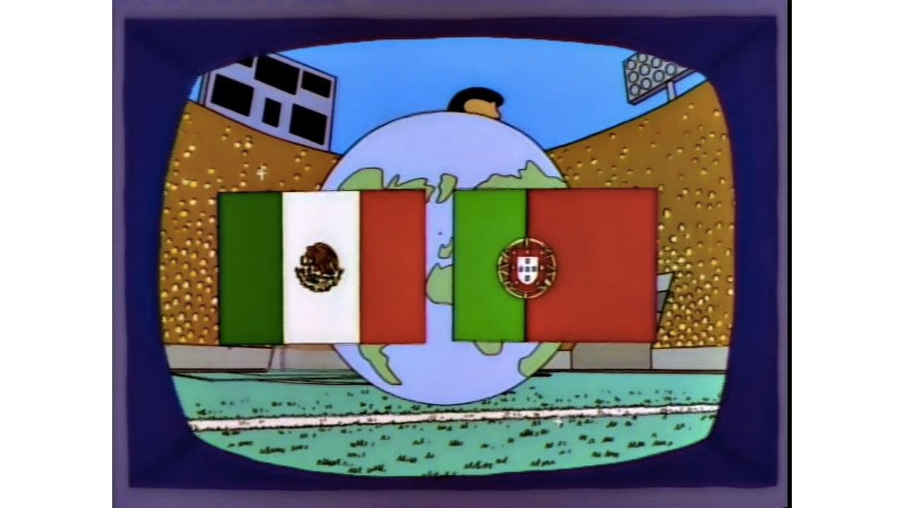 "'The Simpsons' Dangerously Close To ""Predicting"" The World Cup Final"