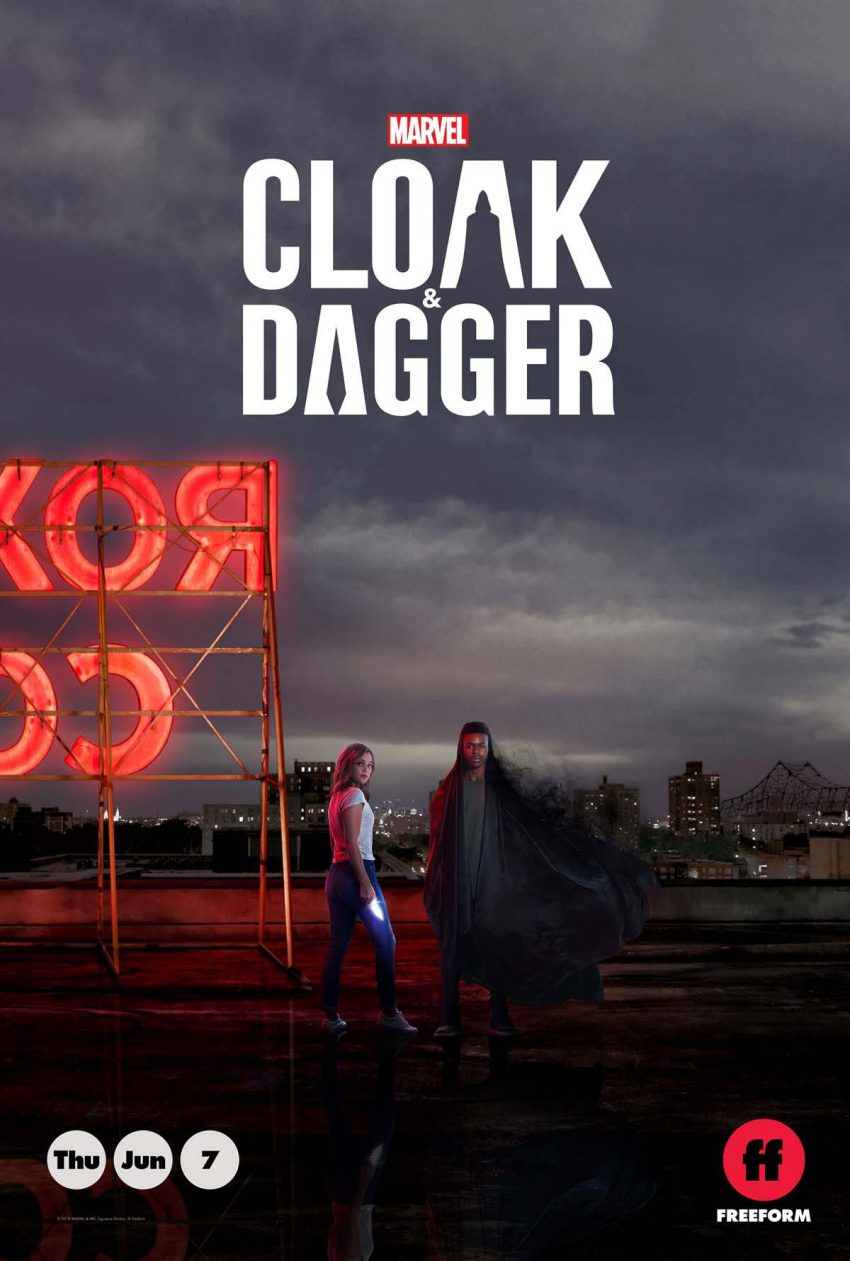 Cloak & Dagger Hits Television on June 7, 2018 and We Can't Keep in The Excitement.