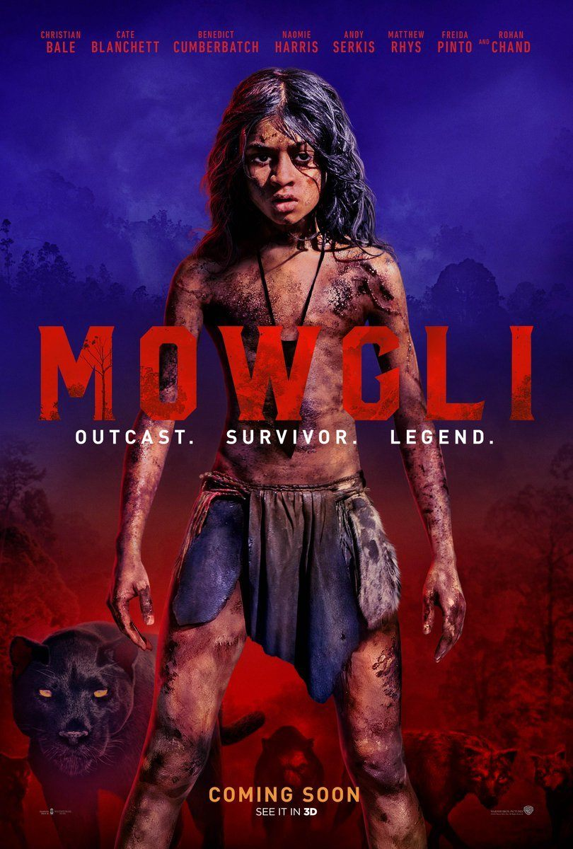 "A Dark ""Mowgli"" - Warner Bros Own Rendition of Rudyard Kipling's Classic Story. Trailer Out Now!"