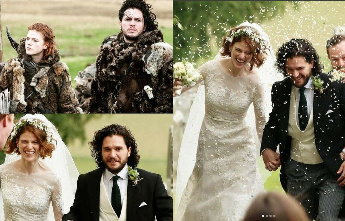 The White Wedding: Jon Snow & Ygritte Officially Tie The Knot! Everyone Who Was Present and Who Wasn't.